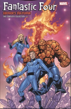 Picture of FANTASTIC FOUR HEROES RETURN COMPLETE COLLECTION TP VOL 03
