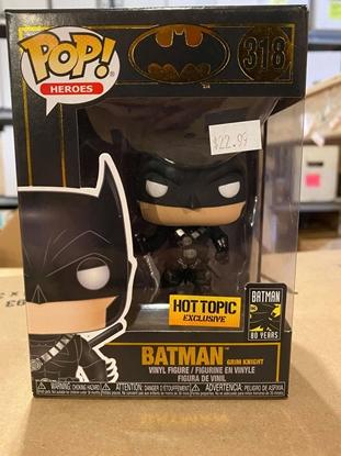 Picture of FUNKO POP HEROES BATMAN GRIM KNIGHT #318 EXCLUSIVE BATMAN 80 YEARS NEW W/ PROTECTOR
