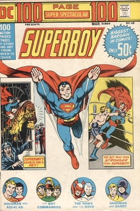 Picture of DC 100 PAGE SUPER SPECTACULAR (1971) #15 4.0 VG