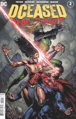 Picture of DCEASED DEAD PLANET #2 (OF 6) CVR A DAVID FINCH