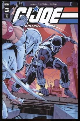 Picture of GI JOE A REAL AMERICAN HERO #282 RI 1:10 VARIANT COVER