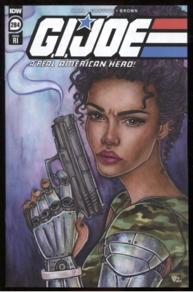 Picture of GI JOE A REAL AMERICAN HERO #284 RI 1:10 VARIANT COVER