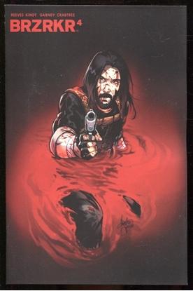 Picture of BRZRKR (BERZERKER) #4 COVER E 1:25 ANDOLFO VARIANT