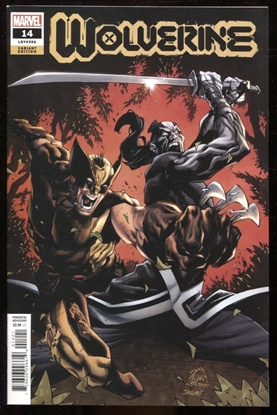 Picture of WOLVERINE #14 STEGMAN VARIANT
