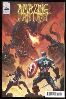 Picture of AMAZING FANTASY #1 (OF 5) HORLEY VARIANT