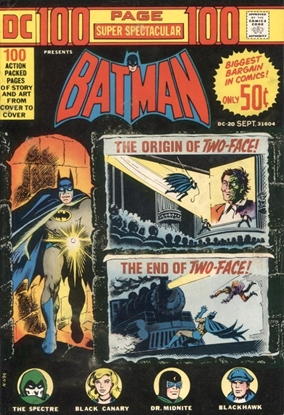 Picture of DC 100 PAGE SUPER SPECTACULAR (1971) #20 6.5 FN+
