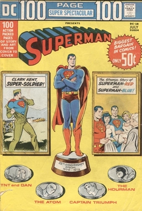 Picture of DC 100 PAGE SUPER SPECTACULAR (1971) #18 3.5 VG-