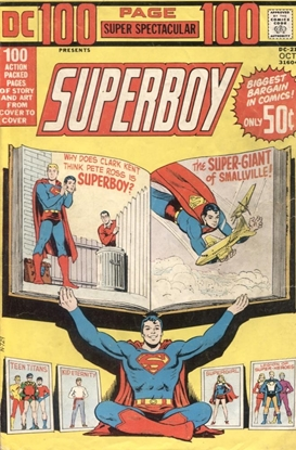 Picture of DC 100 PAGE SUPER SPECTACULAR (1971) #21 4.0 VG