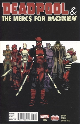 Picture of DEADPOOL MERCS FOR MONEY #5 (OF 5)