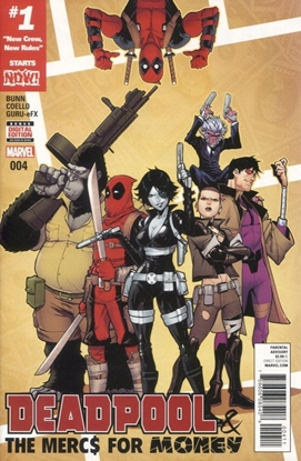 Picture of DEADPOOL AND MERCS FOR MONEY #4