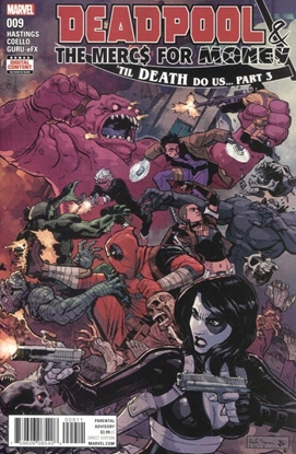 Picture of DEADPOOL AND MERCS FOR MONEY #9