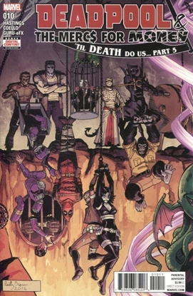 Picture of DEADPOOL AND MERCS FOR MONEY #10