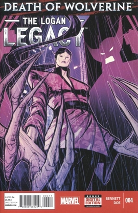 Picture of DEATH OF WOLVERINE LOGAN LEGACY (2014) #4