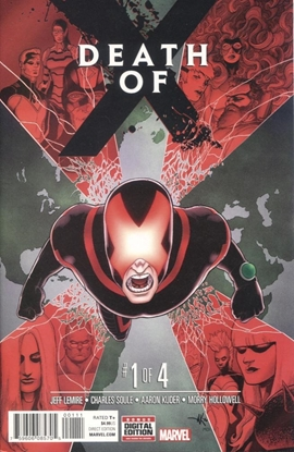 Picture of DEATH OF X #1 (OF 4)