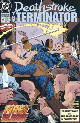 Picture of DEATHSTROKE (1991) #22 9.4 NM
