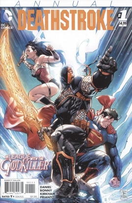 Picture of DEATHSTROKE (2014) ANNUAL #1