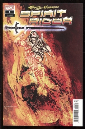 Picture of SPIRITS OF VENGEANCE SPIRIT RIDER #1 1:25 SIENKIEWICZ VARIANT COVER