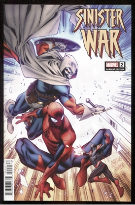 Picture of SINISTER WAR #2 1:25 GOMEZ VARIANT COVER