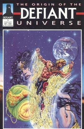 Picture of DEFIANT UNIVERSE ORIGIN OF THE #1 9.6 NM+