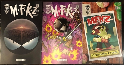 Picture of MFKZ #2 / COVER A + B + C VARIANT SET / BEHEMOTH NM