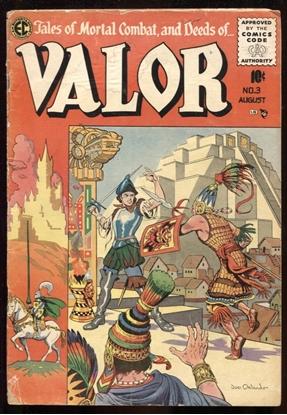Picture of VALOR (1955) #3 JOE ORLANDO COVER 2.0 GD