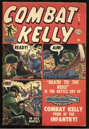 Picture of COMBAT KELLY (1951) #8 MANEELY COVER ART 6.0 FN