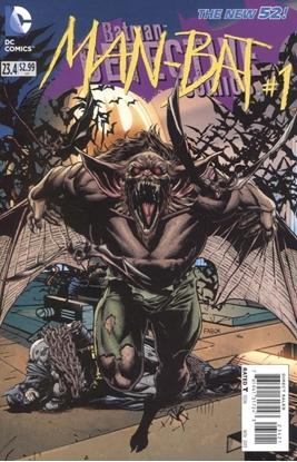 Picture of DETECTIVE COMICS (2011) #23.4 MAN BAT STANDARD ED