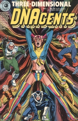 Picture of DNAGENTS #1 3-D #1 9.0 VF/NM
