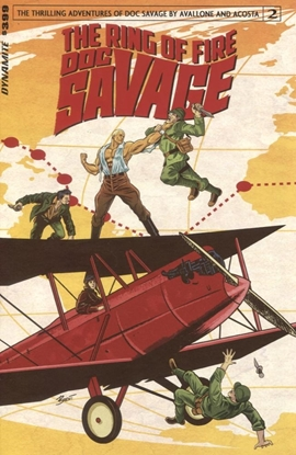 Picture of DOC SAVAGE RING OF FIRE #2 (OF 4) CVR A SCHOONOVER