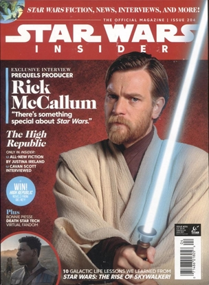 Picture of STAR WARS INSIDER #204 NEWSSTAND ED