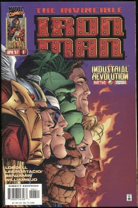 Picture of IRON MAN (1996) #6 9.6 NM+