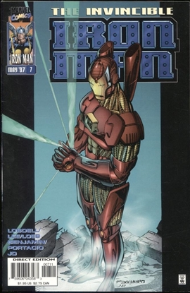 Picture of IRON MAN (1996) #7 9.2 NM-