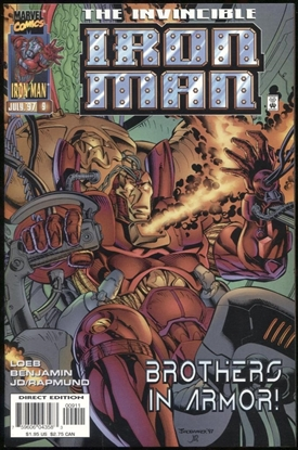 Picture of IRON MAN (1996) #9 9.4 NM