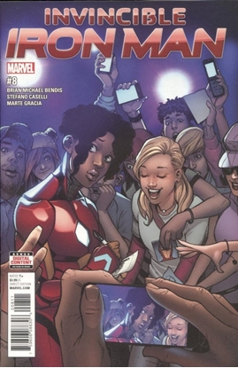 Picture of INVINCIBLE IRON MAN #8