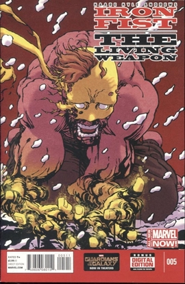 Picture of IRON FIST LIVING WEAPON #5