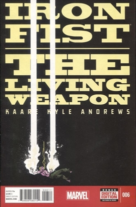 Picture of IRON FIST LIVING WEAPON #6