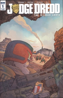 Picture of JUDGE DREDD BLESSED EARTH #1