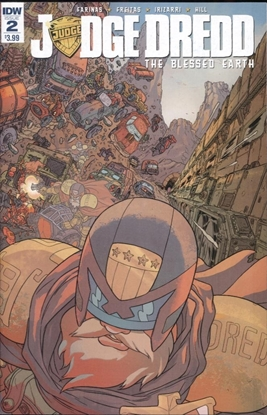 Picture of JUDGE DREDD BLESSED EARTH #2