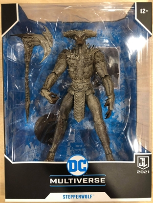 """Picture of DC JUSTICE LEAGUE 7"""" SCALE MEGA ACTION FIGURE STEPPENWOLF MCFARLANE"""