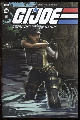 Picture of GI JOE A REAL AMERICAN HERO #285 RI 1:10 VARIANT COVER