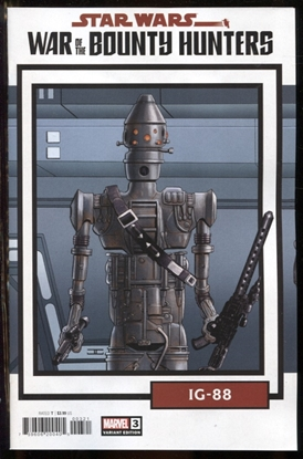 Picture of STAR WARS WAR BOUNTY HUNTERS #3 (OF 5) TRADING CARD VAR