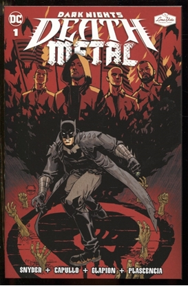 Picture of DARK NIGHTS DEATH METAL #1 SOUNDTRACK SPEC ED RISE AGAINST WITH FLEXI SINGLE BROKEN DREAMS, INC.