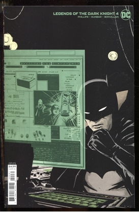 Picture of LEGENDS OF THE DARK KNIGHT #4 / 1:25 JORGE FORNES CARD STOCK VARIANT