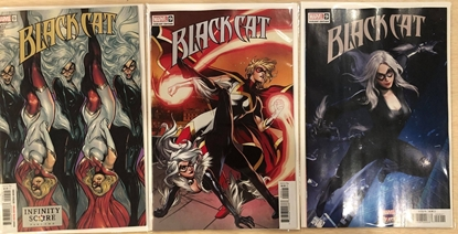Picture of BLACK CAT #9 / 1ST PRINT, LUPACCHINO CONNECTING, NETEASE VARIANT SET NM