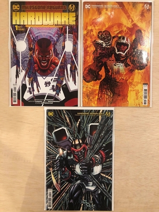 Picture of HARDWARE SEASON ONE #1 / COVER A B C SET / DC COMICS 2021 NM