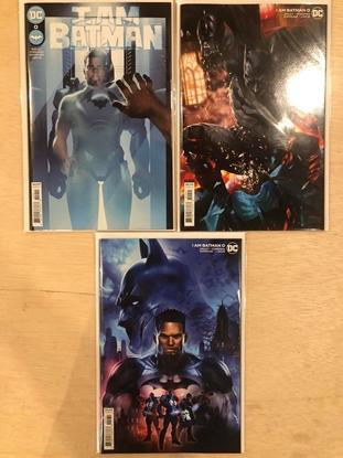 Picture of I AM BATMAN #0 / COVER A B C SET OF 3 / DC COMICS 2021 NM