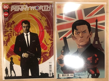 Picture of PENNYWORTH (2021) #1 / COVER A & B SET / DC COMICS TV SHOW