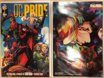 Picture of DC PRIDE #1 (ONE SHOT) / COVER A JIM LEE & B BARTEL VARIANT SET NM