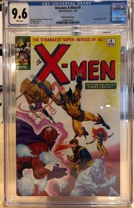 Picture of UNCANNY X-MEN (2019) #1 / CGC 9.6 JUSKO VARIANT HOMAGE COVER