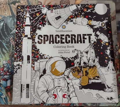 Picture of SPACECRAFT SMITHSONIAN COLORING BOOK (C: 0-1-0)